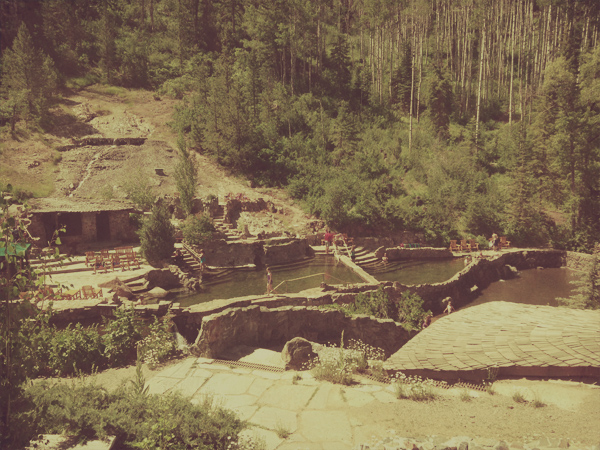 History of Strawberry Hot Springs