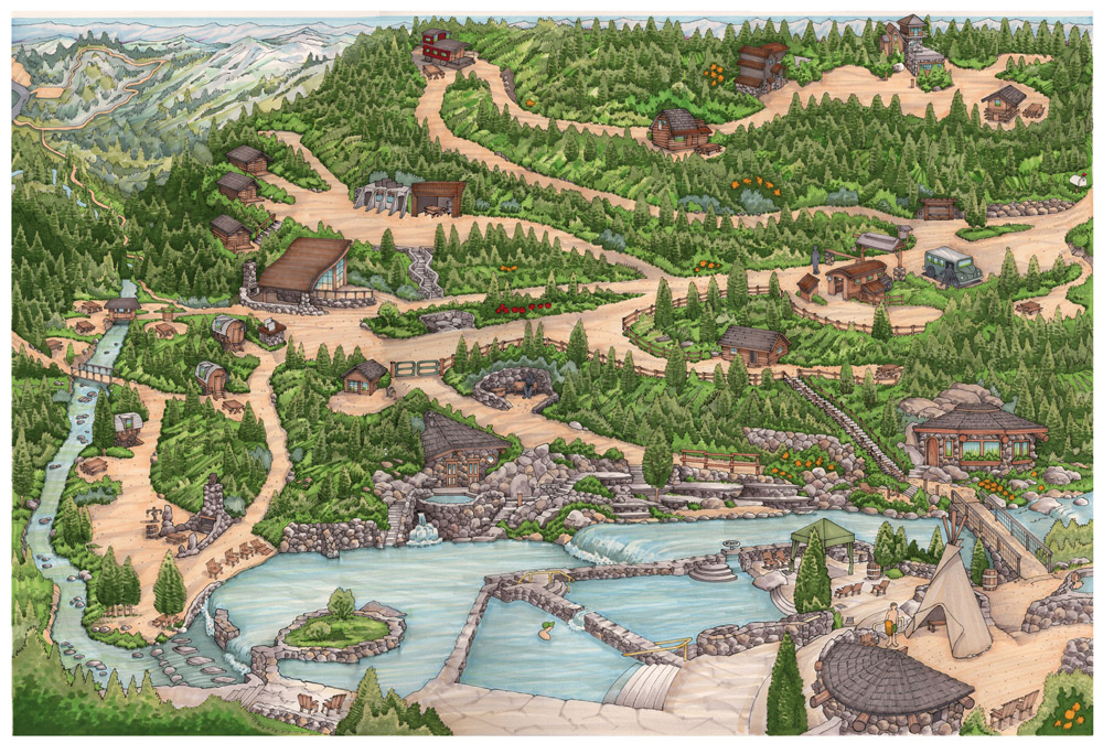 Strawberry Park Steamboat Map